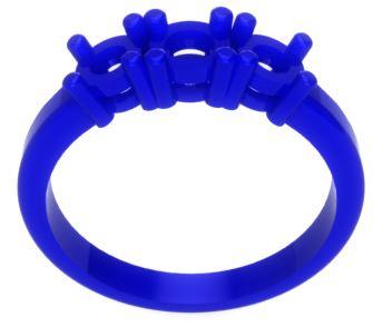 Design custom jewellery wax model